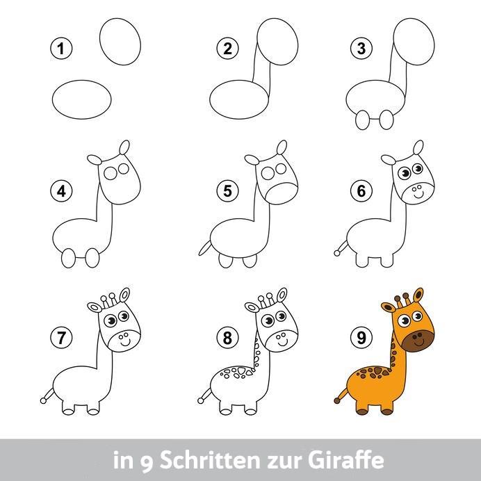 in 9 Schritten zur Giraffe - Giraffensprache - Giraffentraum - Gewaltfreie Kommunikation (GFK) für Kitas