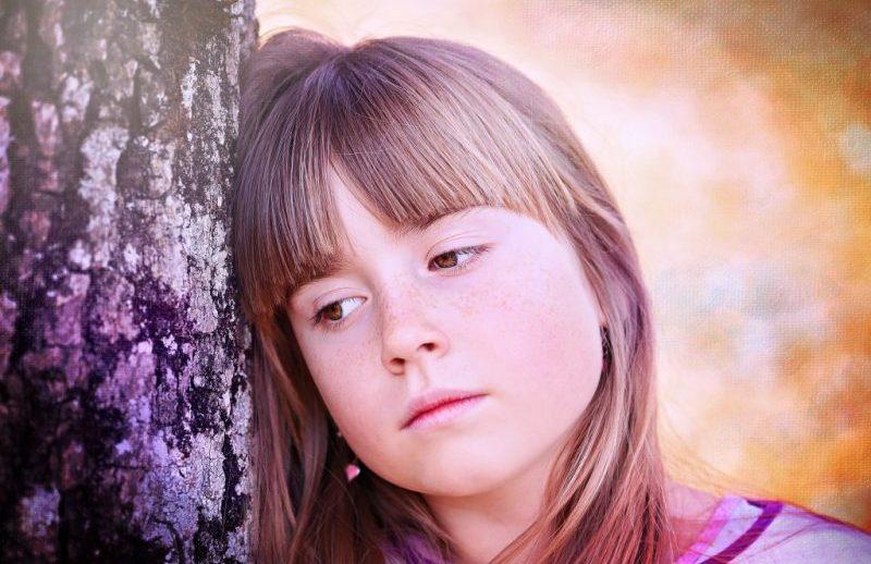 Wenn Kinder traurig sind